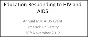 Education and HIV 2012